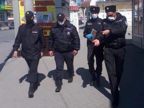 Казачий патруль ежедневно проводит объезды граждан, находящихся на домашнем карантине
