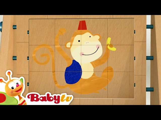 Kids Music and Puzzles Compilation – Animals, Truck, Cars and More | BabyTV