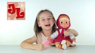 Маша и Медведь  2016 новые песни говорящая кукла, обзор, обучение || Toys for kids