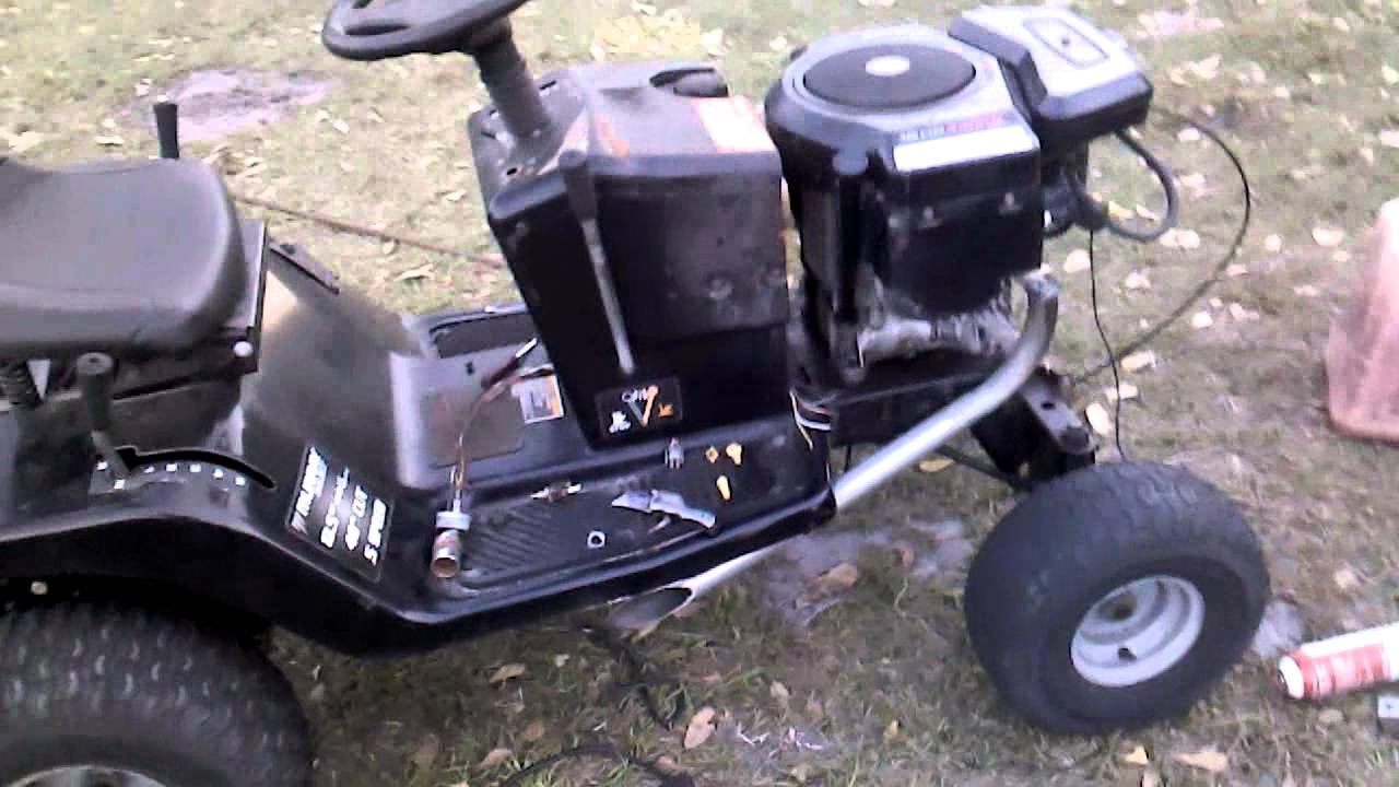 Murray Racing Mower : My second racing lawn mower youtube