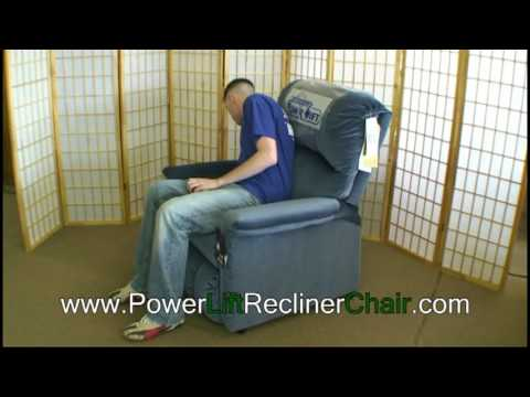 power lift recliner chair youtube
