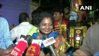 Auto driver asks TN BJP chief Tamilisai about petrol price hike || See what happens to Auto driver