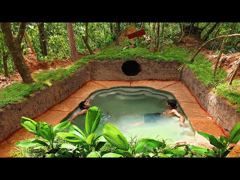building-the-most-inspired-underground-swimming-pool-house-|-creative-pool-design-ideas