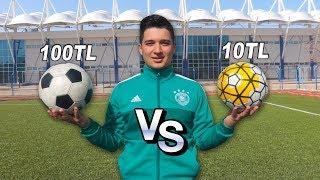 UCUZ VS PAHALI FUTBOL TOPU