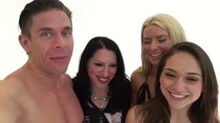 Behind the Scenes of Babysitting the Baumgartners with Mick Blue, Anikka Albrite and Sara Luvv