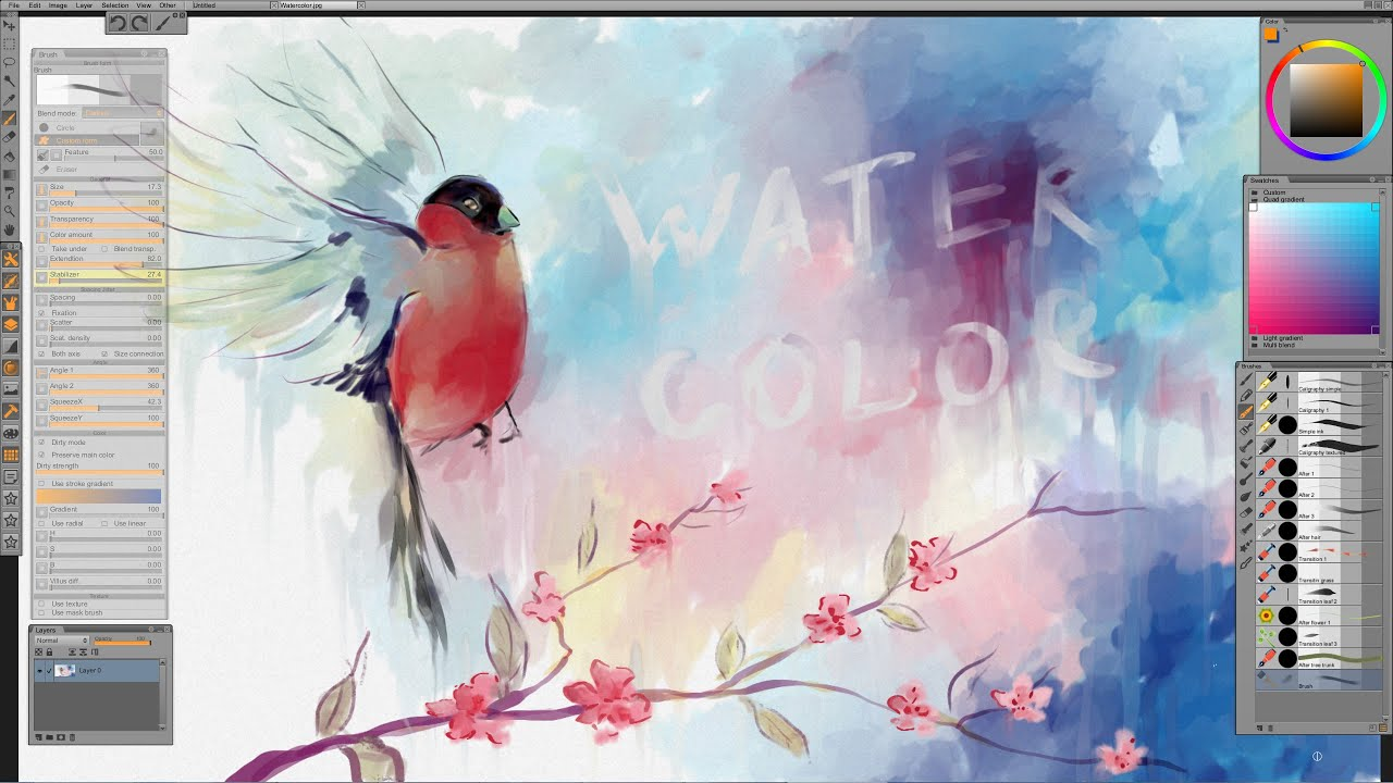 Image Result For Best Watercolor Tutorials On Youtube