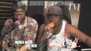Murda Mook, Oun P & T-Rex Freestyle w/ OOHWAY Radio