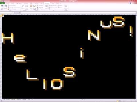 Excel 2010 - VBA - SiNuS TeXt
