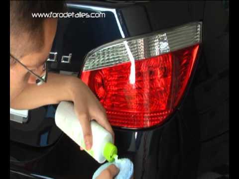 C mo lavar y limpiar nuestro coche cap tulo 9 limpieza - Como limpiar los cristales del coche ...