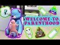 The Sims 4 Let's Play Welcome to Parenthood - DON'T PEE ON THE BEAR! Episode 4
