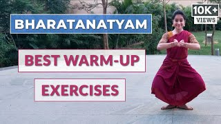 Warm Up Exercises for Bharatanatyam Dancers | Part - 2 | 2020 | Easy & Effective 10 min Routine