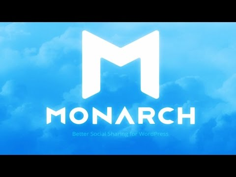 How To Use The Monarch Plugin For Wordpress | Monarch Plugin Tutorial 2017 thumbnail
