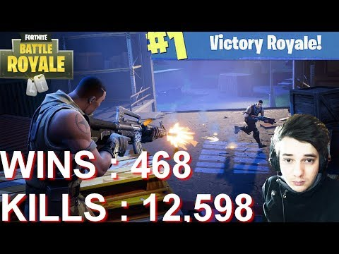 [FR/PC/LIVE] Fortnite en solo 468 wins! + Twitch