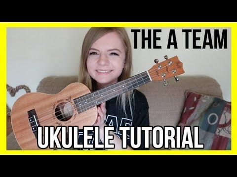 The A Team - Ed Sheeran | EASY UKULELE TUTORIAL