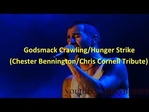 Godsmack Crawling/Hunger Strike (Chester Bennington/Chris Cornell Tribute) Sands Steel Stage