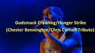 Godsmack Crawling/Hunger Strike (Chester Bennington/Chris Cornell Tribute) Sands Steel Stage