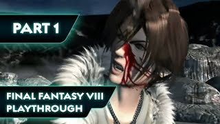 Final Fantasy VIII Playthrough Part 1 - Balamb Garden