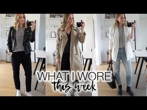 What I wore this week #1 | Winter capsule
