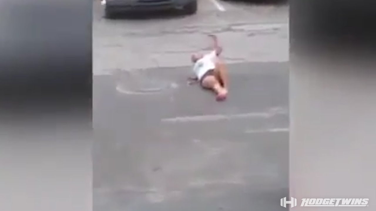 Girlfriend Caught Boyfriend Cheating  Girlfriend Gets Ran Over By Car Hodgetwins -2655