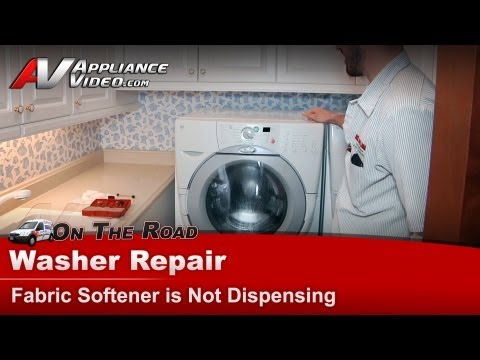 Whirlpool & Kenmore Washer Repair - Fabric Softener is Not Dispensing - GHW9400PW1