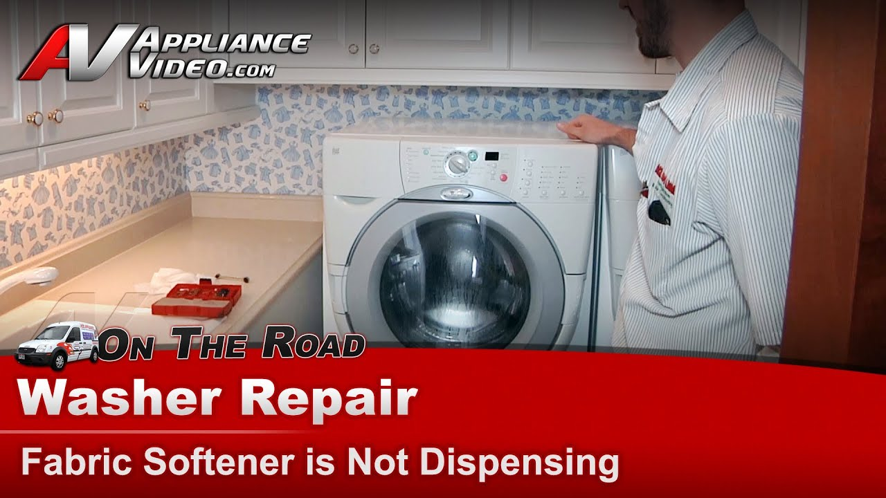 Whirlpool Amp Kenmore Washer Repair Fabric Softener Is Not
