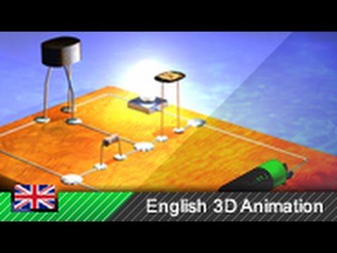 Transistor (bipolar) - How it works! (Animation)