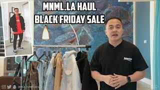 MNML Outerwear Haul + BLACK FRIDAY SALE