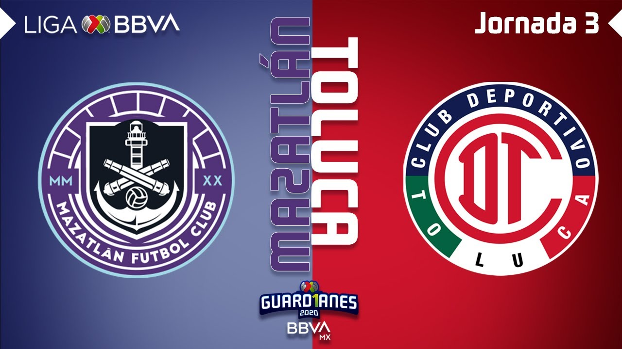 Resumen y Goles | Mazatlán vs Toluca | Liga BBVA MX - Guardianes 2020 - Jornada 3