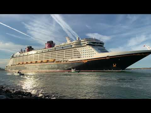 Disney Dream Leaves Port Canaveral January 18, 2019 Cruise ...
