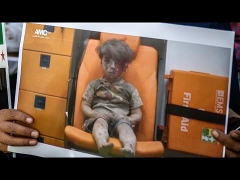 Syrian President Claims Viral Photo of Syrian Boy is a Fake