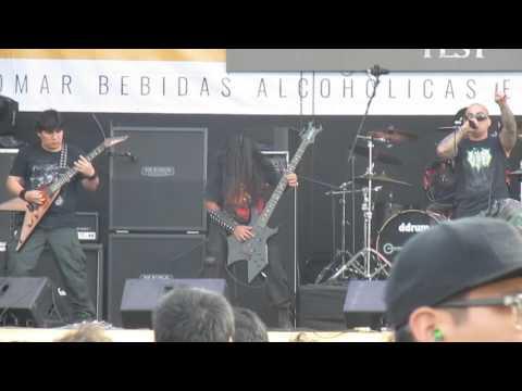 Disinter - Impale the Enemy en vivo Lima Metal Fest 2016
