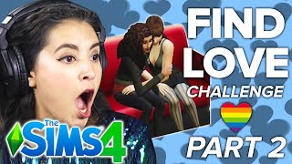 Chantel Tries The Dating Challenge In The Sims 4 | Part 2
