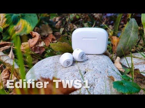 Edifier TWS1 - обзор наушников с поддержкой APTX