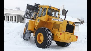 Volvo BM 846  - Snow Clearing - Classic Wheel Loader - Sweden 4K