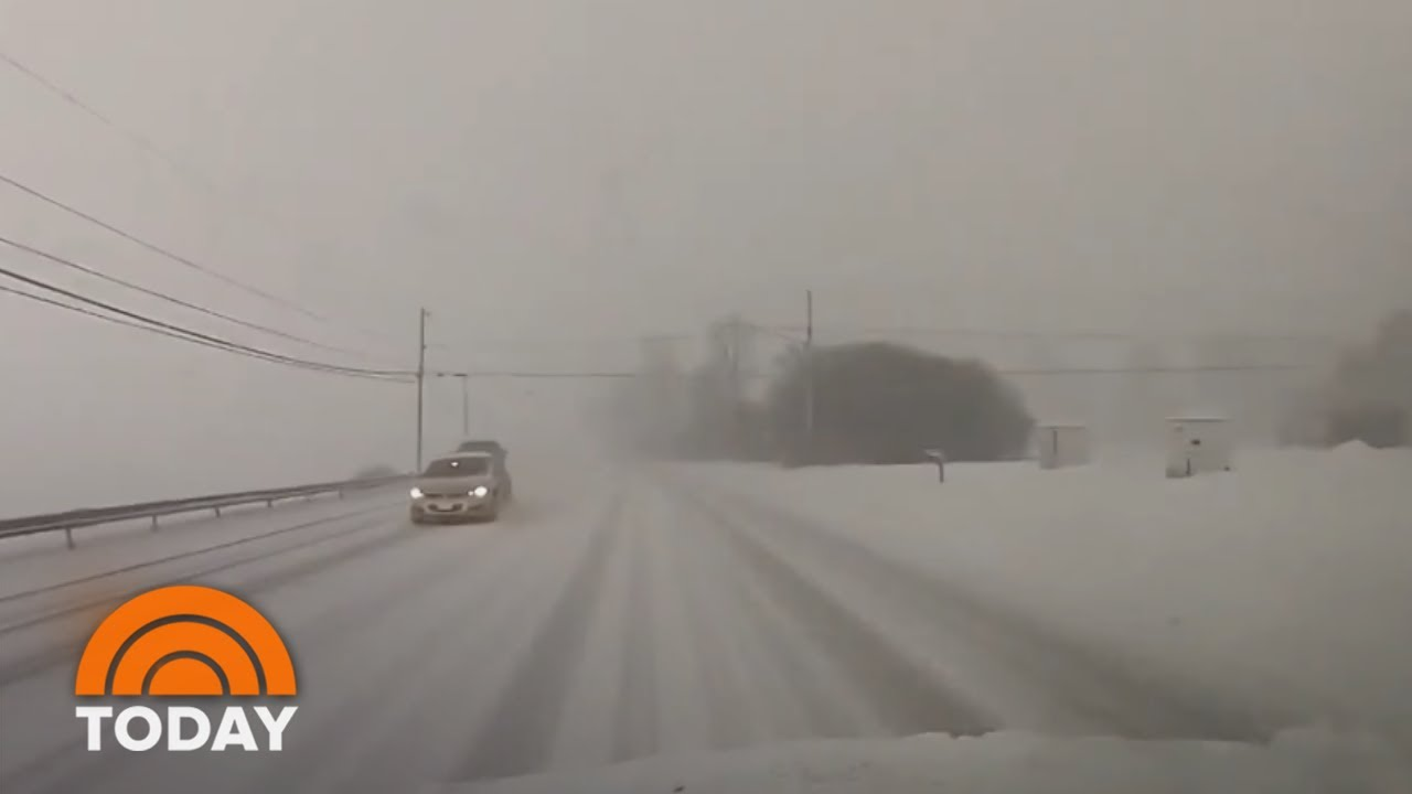 What is a snow squall? Here's what happened this morning in parts ...