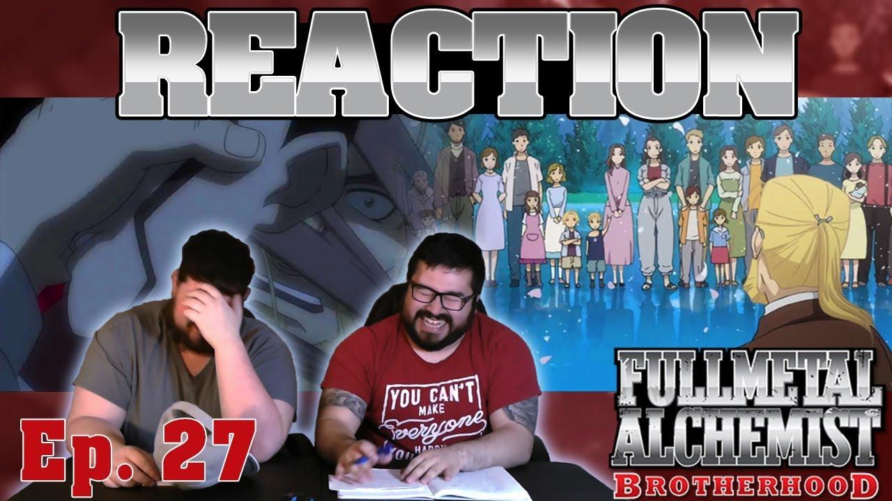 Fullmetal Alchemist Brotherhood English Dub Episode 27 ...
