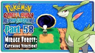 Pokemon Omega Ruby and Alpha Sapphire - Part 58: Mirage Forest | Catching Virizion! (FaceCam)