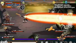 Ninja Saga Final Dragon Game Play