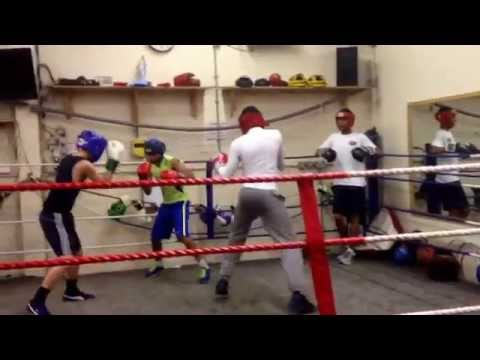 Moss Side Fire Station Boxing Club 12/07/14
