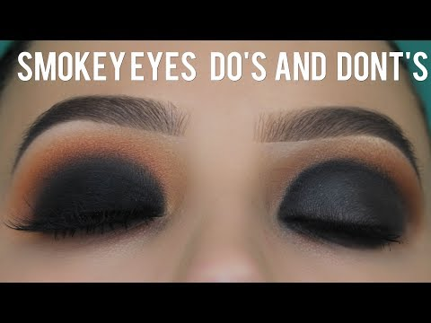 Smokey Eyes Dos and Donts Tutorial!