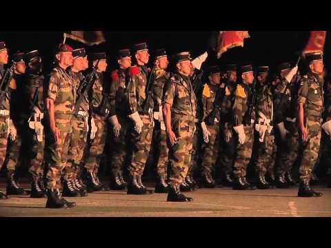 Les troupes de marine commémorent Bazeilles - septembre 2012