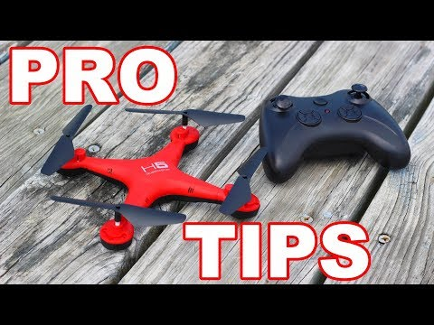 $20 Drone for Beginners with Pro Tips for Flying Drones – H5 – TheRcSaylors