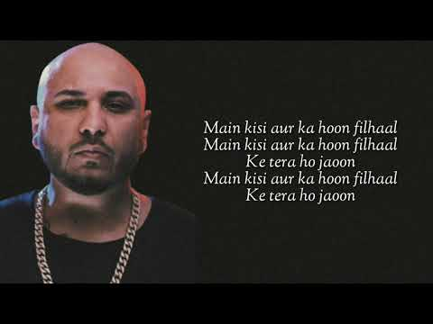 Filhall Lyrics B Praak  Akshay Kumar  Nupur Sanon  Jaani