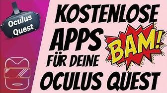 Kostenlose Apps für deine Oculus Quest [deutsch] Oculus Quest Spiele deutsch