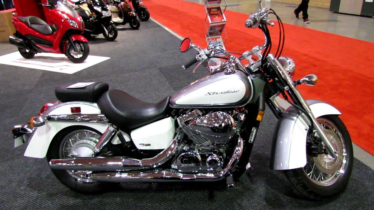 2014 Honda Shadow Aero VT750 Walkaround - 2014 Toronto Motorcyle ...