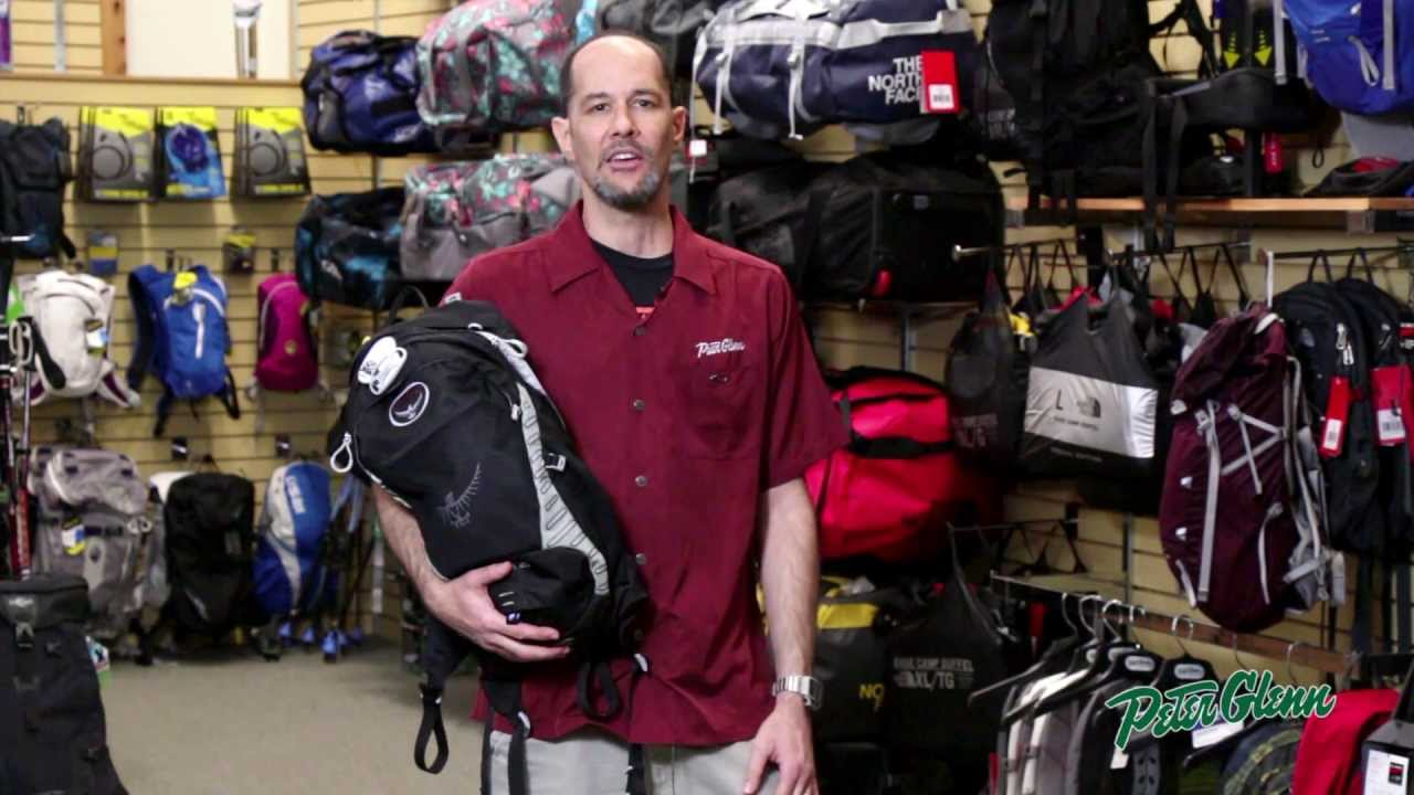 81eaacbd7a Osprey Escapist 20 Backpack Review by Peter Glenn - YouTube