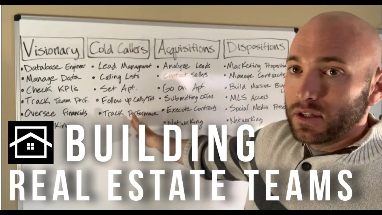 Building Your Real Estate Team | Wholesaling Houses