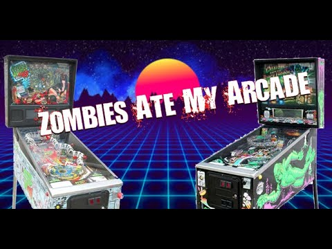 """Episode 5: A Look at David's Pinball Collection at """"Zombie's Ate My Arcade"""""""