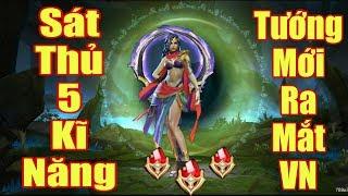 [Gcaothu] Tướng mới YENA ra mắt đá quý gọi tên - Sát thủ có 5 kĩ năng mạnh khủng khiếp