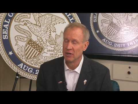 Full one-on-one interview with Gov. Rauner
